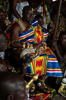 Asantehene Otumfuo Nana Osei Tutu II, Kumasi, Ghana