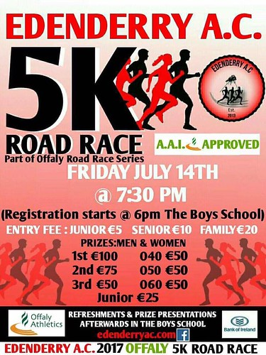 Edenderry A.C 5KM 2017