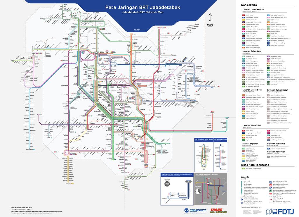 TransJakarta maps