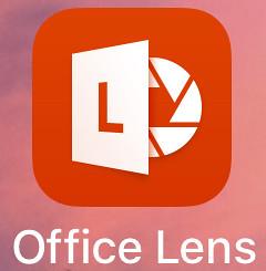 將簡報自動轉正的好工具Office Lens01