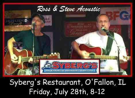Ross & Steve Acoustic 7-28-17