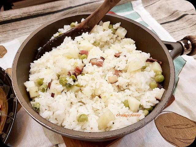 170720 洋芋火腿青豆飯-02