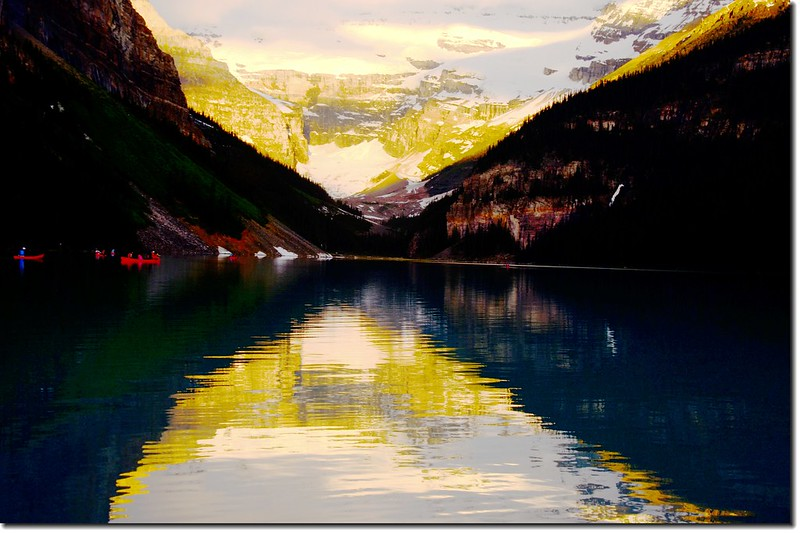 Lake Louise sunrise (5)