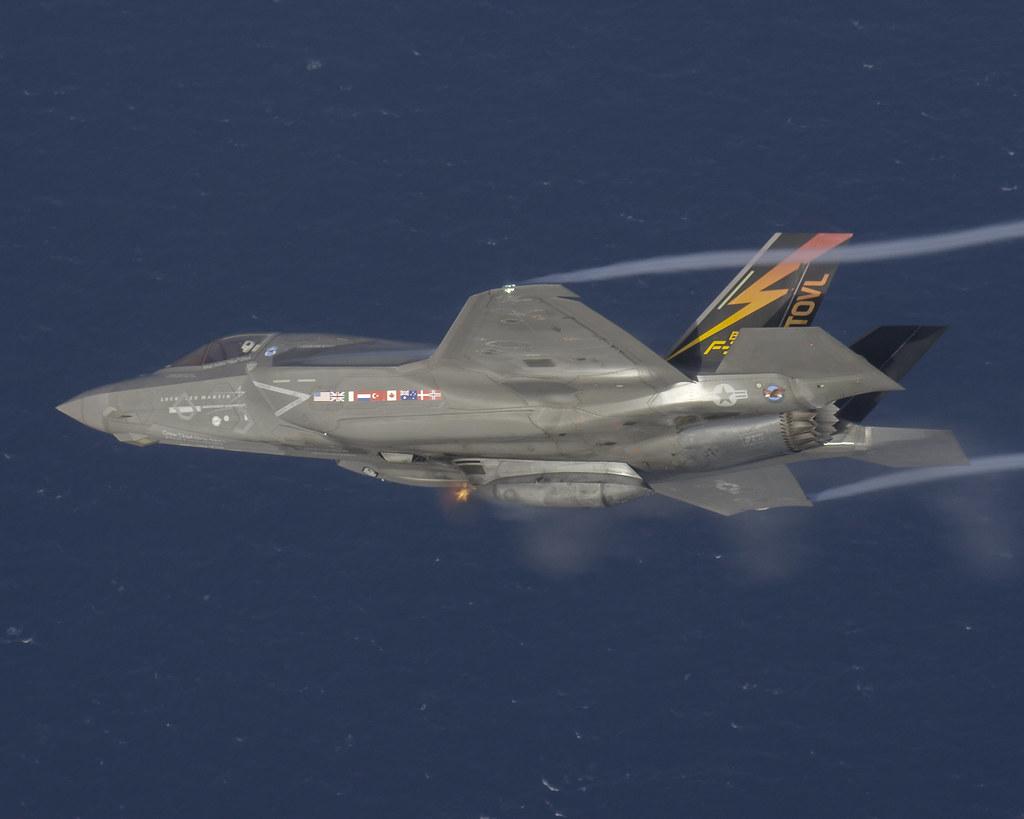 F-35B 25mm Live Gun Fire