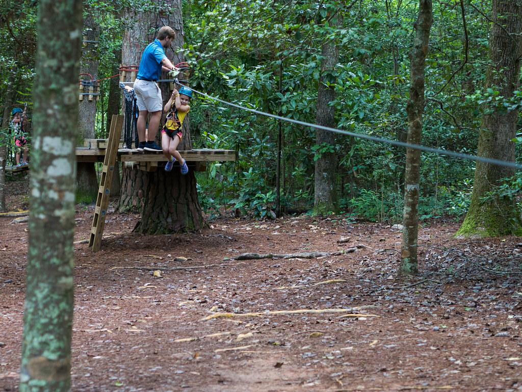 Leah TreeTop zipline