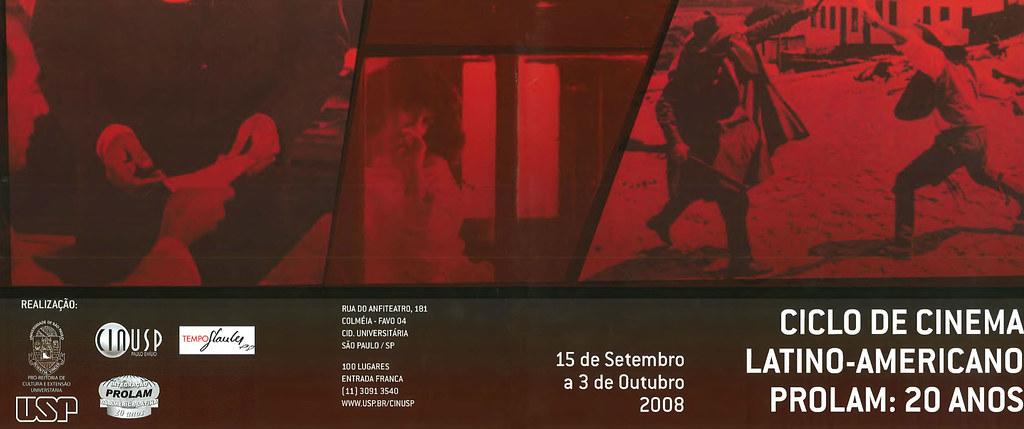 Ciclo de Cinema Latino-Americano - PROLAM: 20 Anos