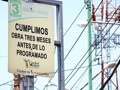 """Mexico City / Metrobus Line 3 - """"We completed the work 3 months ahead of schedule"""""""