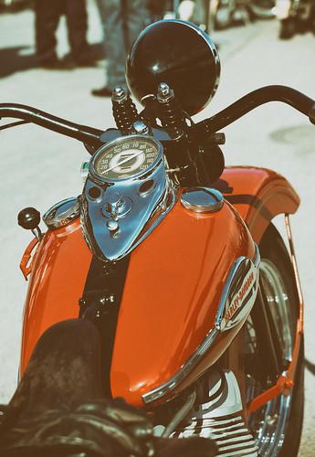 Harley-Davidson Flathead.
