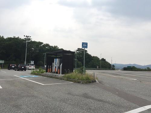 小矢部川SA(上り)EV急速充電器