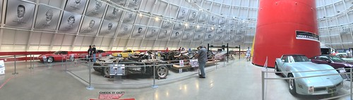 corvette museum cars classic panoramic view