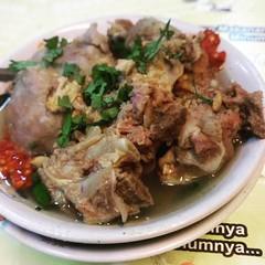 Bakso Tulangan. #meatballs #culinarindonesia