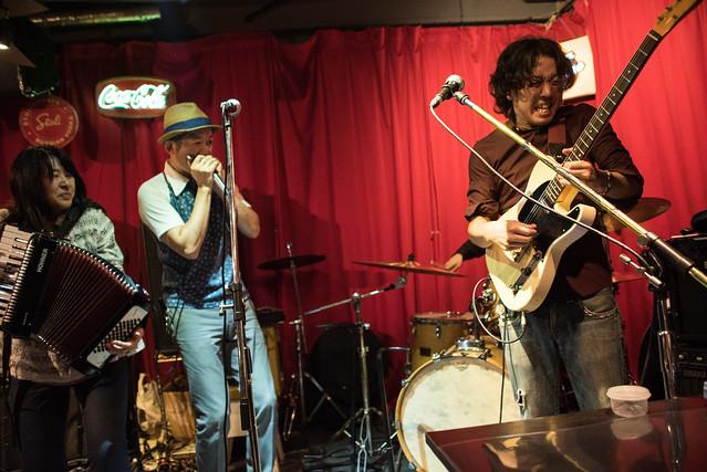 the AstroBluenauts live at Terraplane, Tokyo, 28 Jul 2017 -00469