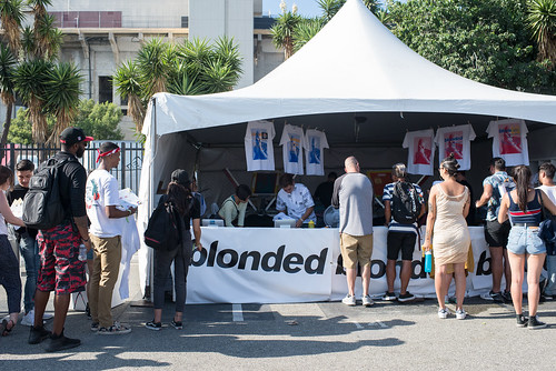 """Blonded"" Frank Ocean Merch"