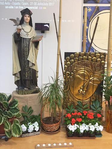 St Teresa and the Buddha