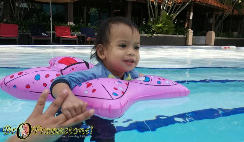 Swimming Pool Hilton Hotel, Kuala Lumpur