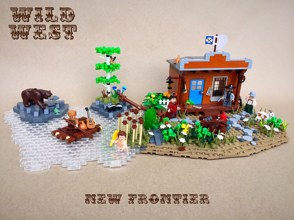 The New Frontier (custom built Lego model)