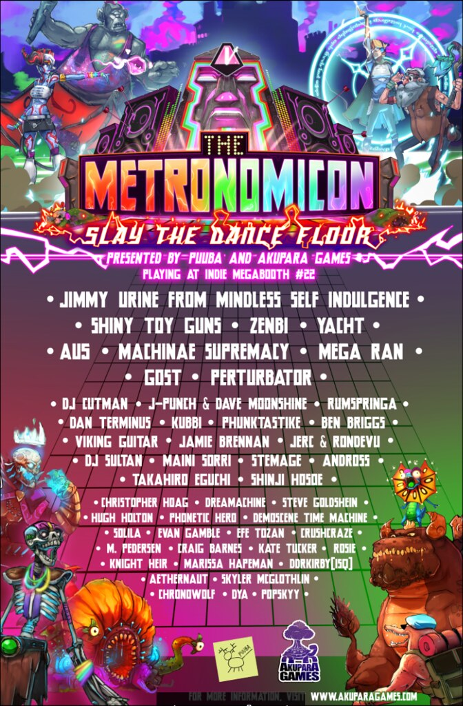 The Metronomicon: Band Poster