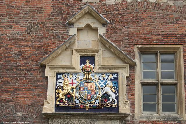 Englisches Wappen