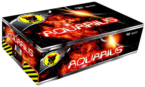 Aquarius by Black Cat Fireworks