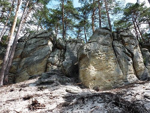 Toulovcovy maštale: Skalní pískovcové bludiště nedaleko Litomyšle