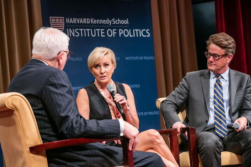 Joe and Mika with IOP in DC