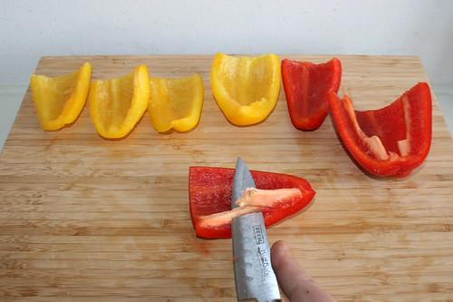 20 - Paprika entkernen / Decore bell pepper
