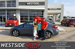#HappyBirthday to Luis from Rubel Chowdhury at Westside Kia!