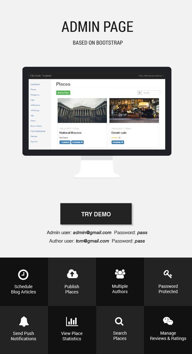 Templat Aplikasi Panduan Kota Terbaik - 6
