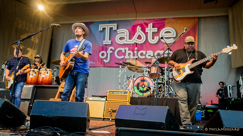 Ben Harper & The Innocent Criminals live at Taste of Chicago