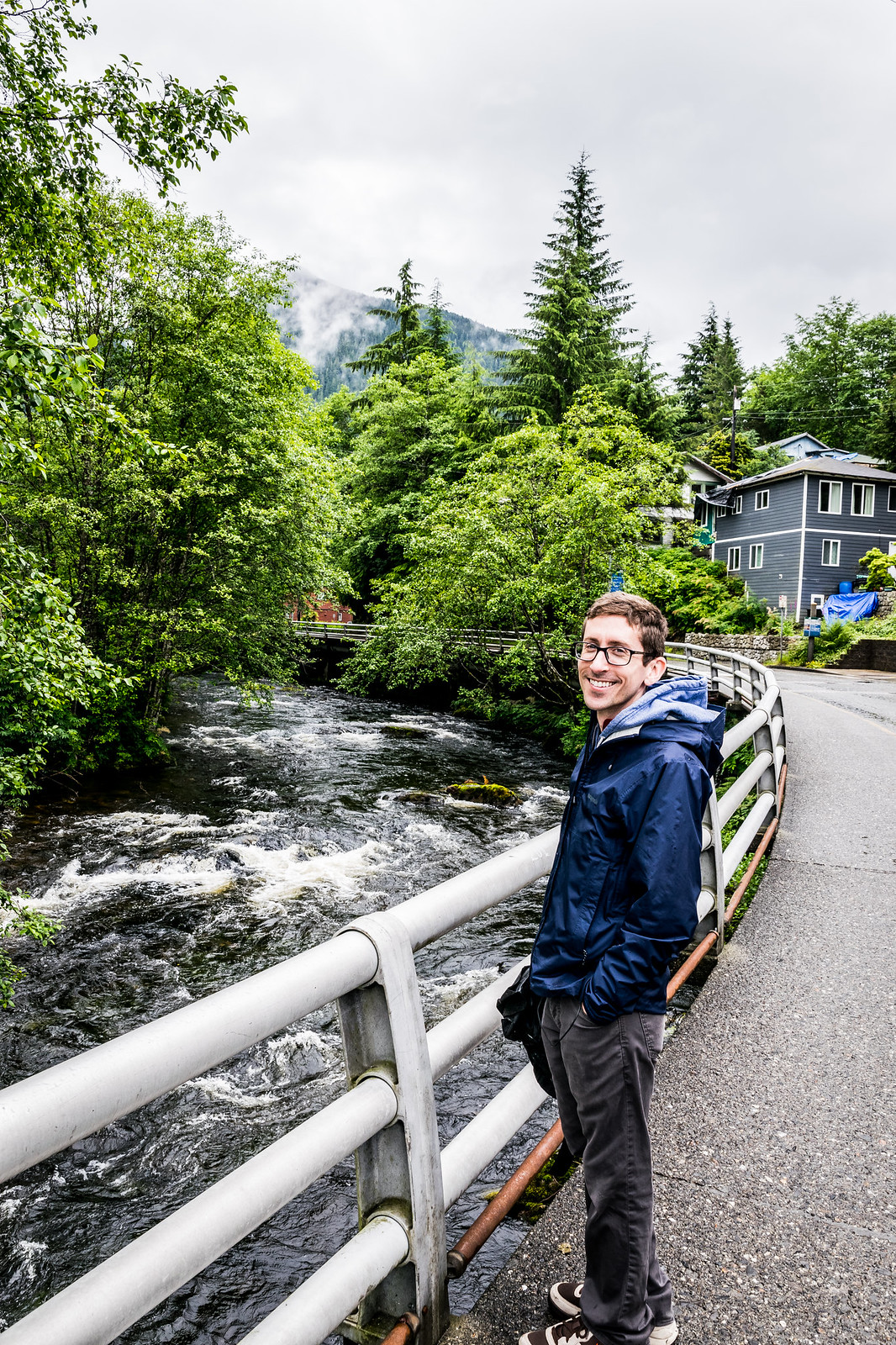 exploring the streets of Ketchikan