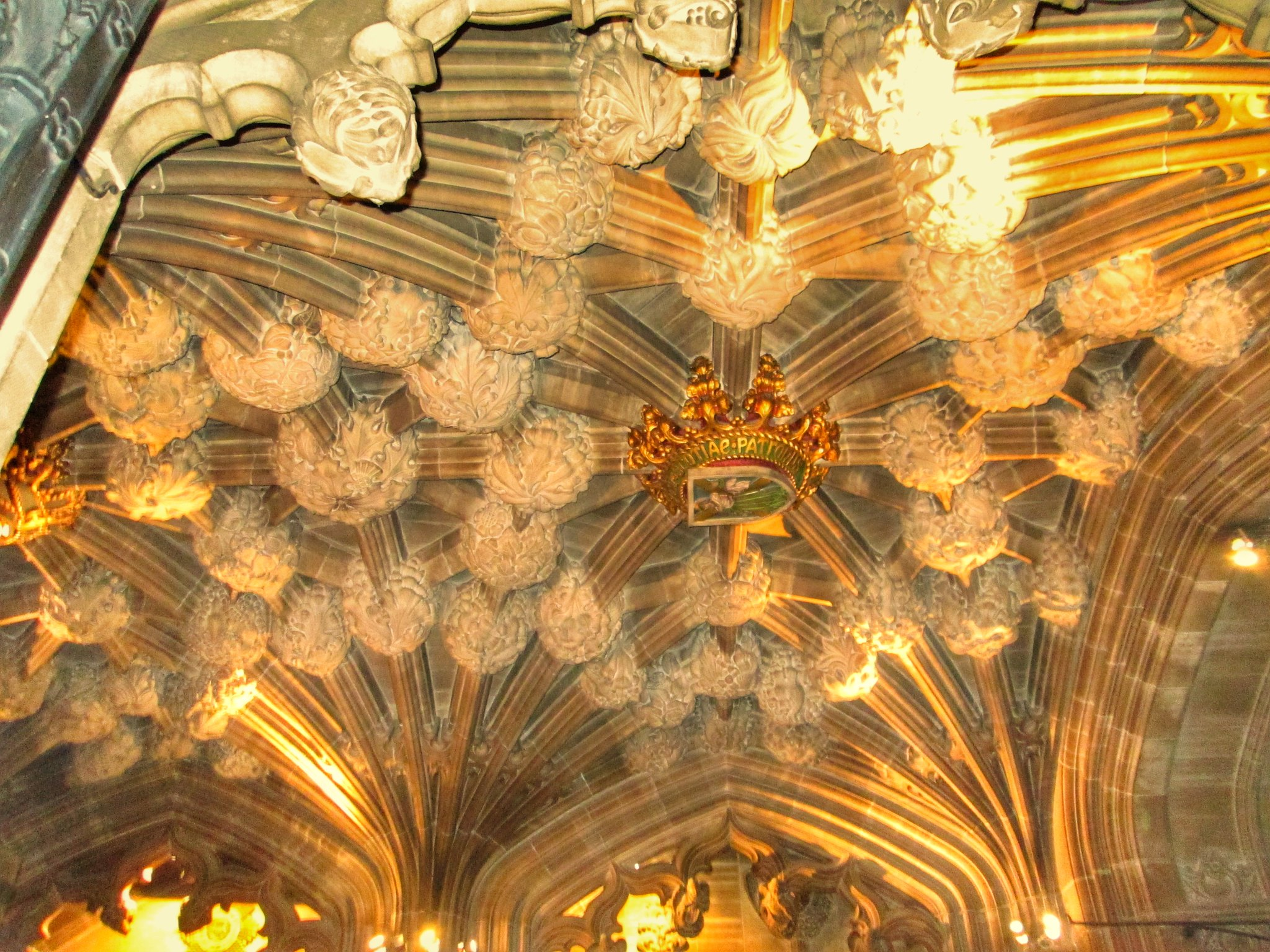 St Giles Cathedral Thistle Chapel ceiling