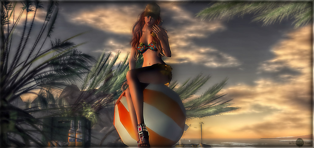 ╰☆╮Beach Pin-Up╰☆╮