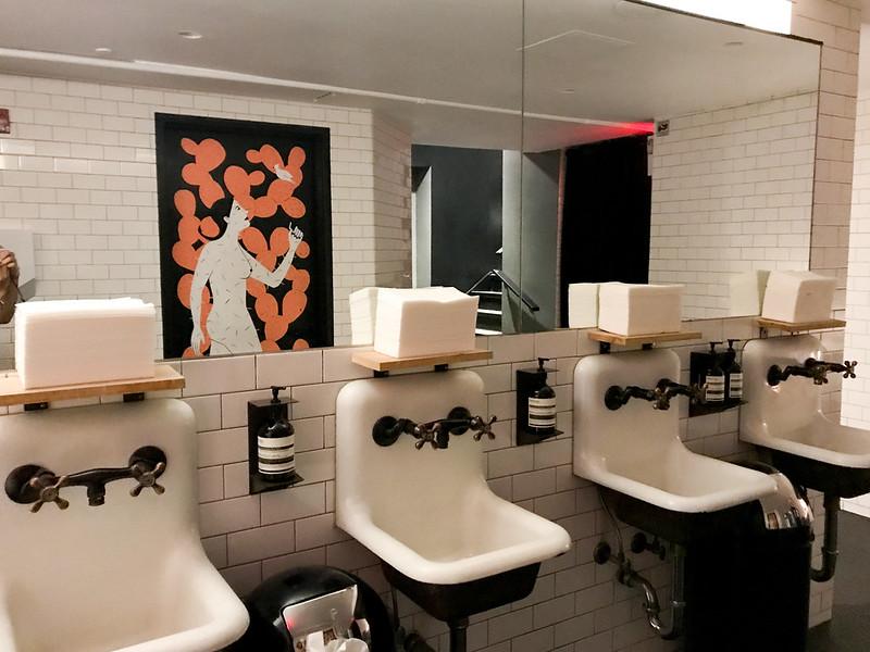 Restroom at Cosme