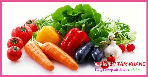 Tăng cường ăn các loại rau quả để bổ sung chất xơ và vitamin giúp ngăn cản tiến triển của bệnh hở van tim