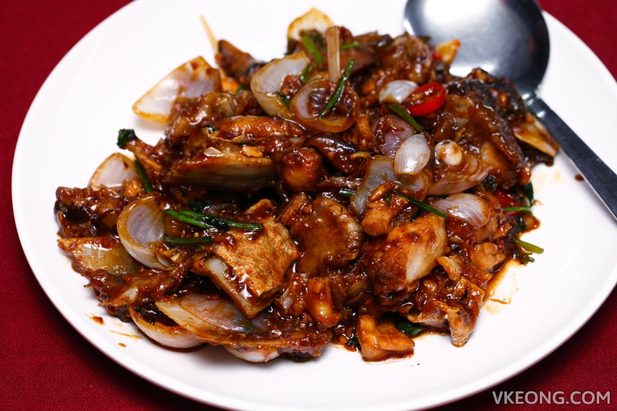 Yuan Kee Kepong Stir Fried Fish Head