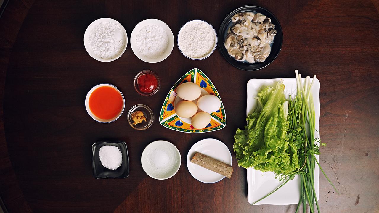 Taiwan Oyster Omelette | 蚵仔煎