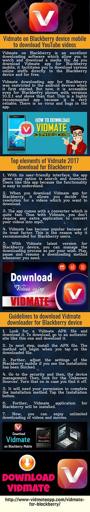 Vidmate On Blackberry Device Mobile To Download YouTube Vi… | Flickr