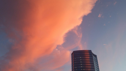sunsets robertscenterforpediatricresearch philadelphia clouds pennsylvania unitedstates us
