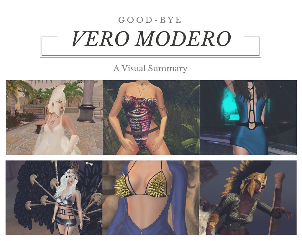 Good-Bye Vero Modero!