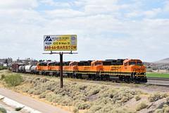 BNSF 144 + BNSF 115 + BNSF 119 + BNSF 152 + BNSF 106 East