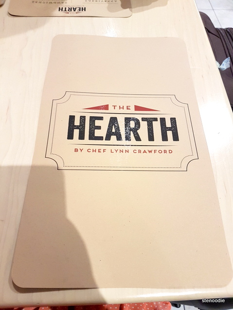 The Hearth menu cover
