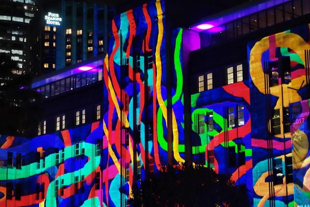 Sydney - Vivid Festival - MCA