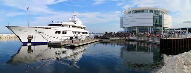 Docked at Pier Wisconsin