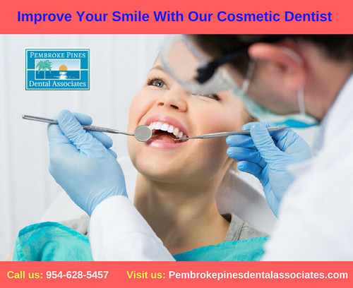 Improve Your Smile With Our Cosmetic Dentist