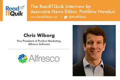 Q & A with Chris Wiborg, Vice President of Product Marketing at Alfresco Software