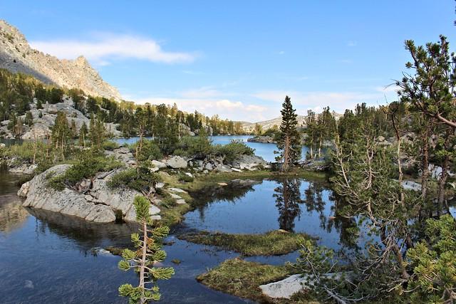 2017 Lower Lamarck and Wonder Lakes