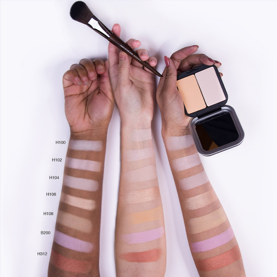 MAKE UP FOR EVER Artist Face Color Highlight, Sculpt and Blush Powder Swatches