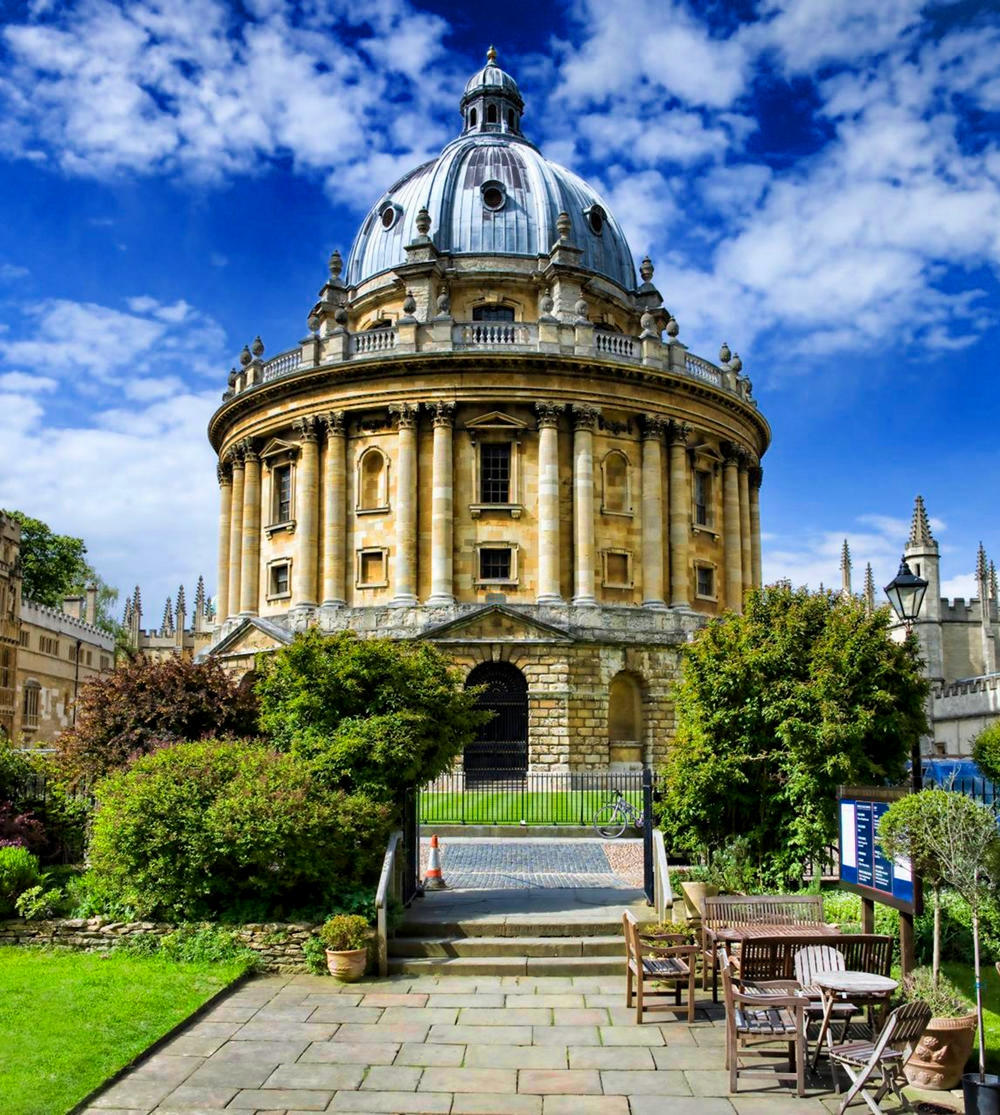 Radcliffe Camera, Oxford. Credit Christopher Michel