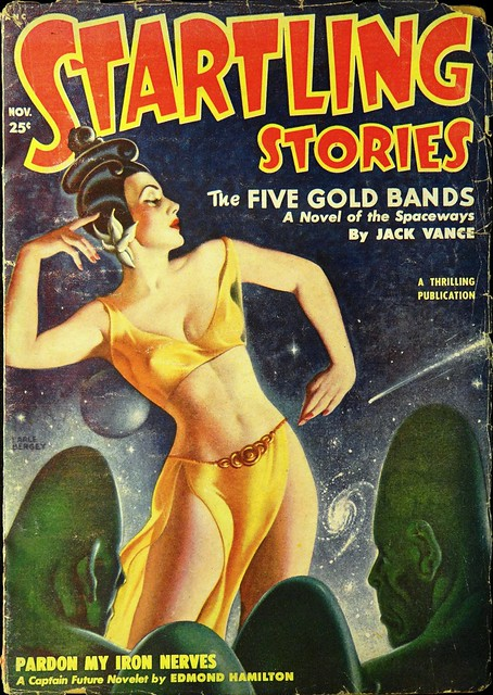Startling Stories Vol. 22, No. 2 (November, 1950). Cover Art by Earle Bergey