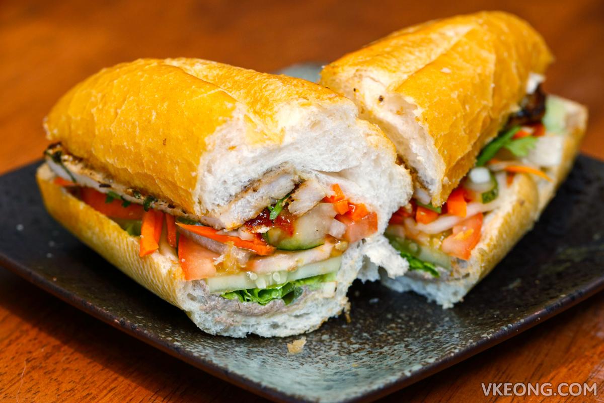 Ăn Viet  Banh Mi with Pork Chop
